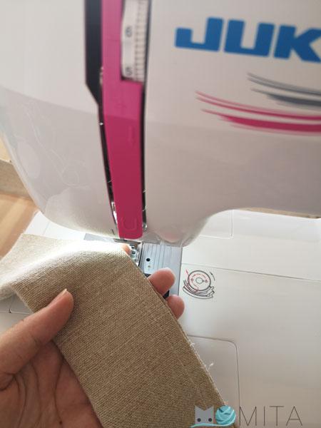 coser delantal